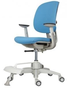 Кресло DUOREST DuoFlex Sponge подростковое, ортопедическое, цвет голубой