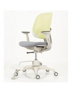 Кресло DUOREST DuoFlex Junior Combi подростковое, ортопедическое, цвет зеленый/серый