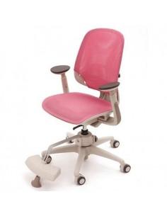 Кресло DUOREST DuoFlex Junior Mesh подростковое, ортопедическое, цвет розовый