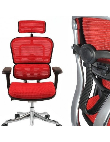Кресло компьютерное ERGOHUMAN PLUS, эргономичное, черного цвета