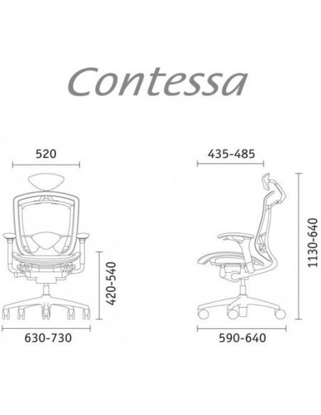 Кресло Contessa для руководителя