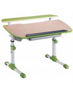 Стол Бюрократ Conductor-12/BEECH&G письменный детский, цвет зеленый, бук