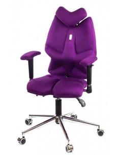 Кресло Kulik System Fly детское 6-13 лет, ортопедическое, цвет фиолетовый