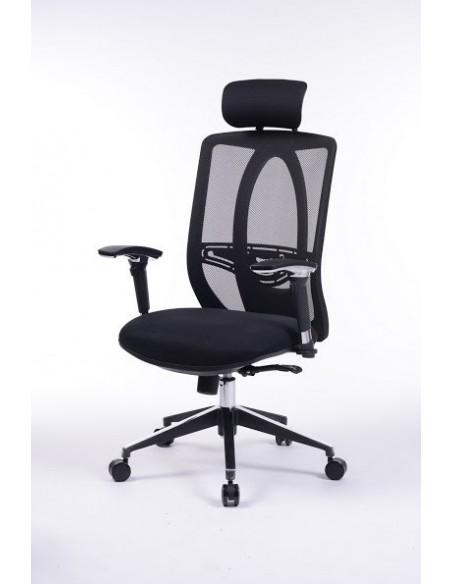 Кресло офисное Barsky Black chrom BB-01