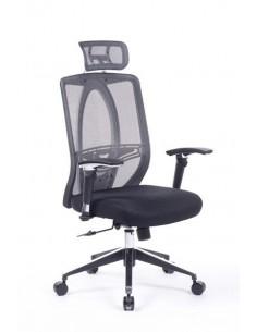 Кресло Barsky Black Chrom BW-01 для руководителя