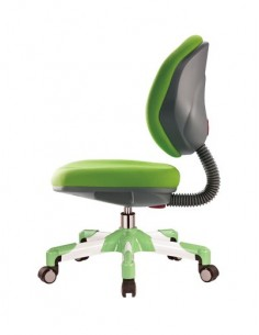 Кресло Mealux Y-120 KZ металл белый / обивка зеленая однотонная