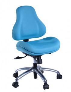 Кресло Y-128 AB обивка голубая в точку