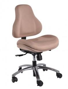 Кресло Y-128 AC обивка бежевая в точку