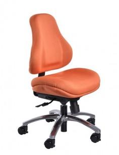 Кресло Mealux  Y-128 OR обивка оранжевая в точку