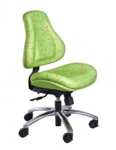 Кресло Mealux  Y-128 Z обивка зеленая с рисунком