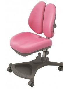 Кресло Mealux Y-132 PN серебристый металл / обивка розовая однотонная