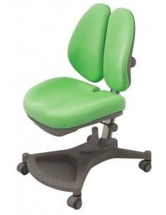 Кресло Mealux  Y-132 Z серебристый металл / обивка зеленая однотонная