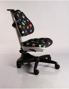 Кресло Mealux Y-317 GB обивка черная с жучками