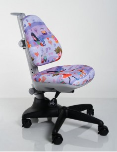 Кресло Mealux Y-317 GL обивка с девочками