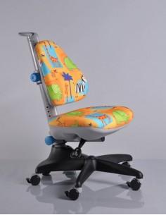 Кресло Mealux Y-317 GR1 обивка желтая со зверятами