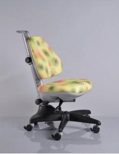 Кресло Mealux Y-317 GR2 обивка салатовая с салютиками