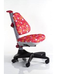 Кресло Mealux  Y-317 ST обивка красная с звездочками