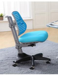 Кресло Mealux Y-327 KBL  обивка однотонная голубая