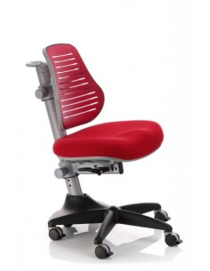Кресло Mealux Y-327 KR обивка однотонная красная