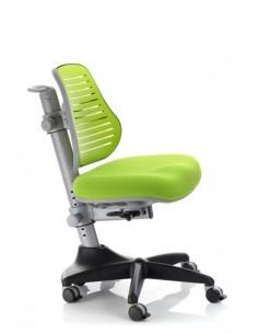 Кресло Mealux Y-327 KZ обивка однотонная зеленая