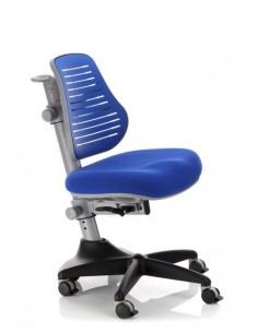 Кресло Mealux Y-327 SB обивка однотонная синяя