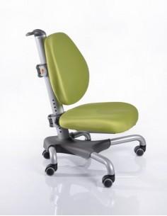 Кресло Mealux Y-517 SKZ серебристый металл / обивка зеленая однотонная