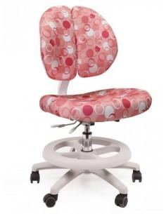 Кресло Mealux Y-616 P обивка розовая с шариками