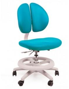 Кресло Mealux Y-616 KBL обивка  голубая однотонная