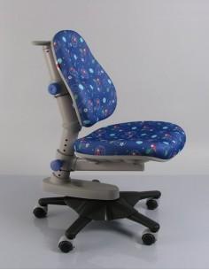 Кресло Mealux Y-818 F обивка синяя с мячиками