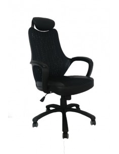 Кресло BARSKY COLOR STYLE  BLACK (CS-01)
