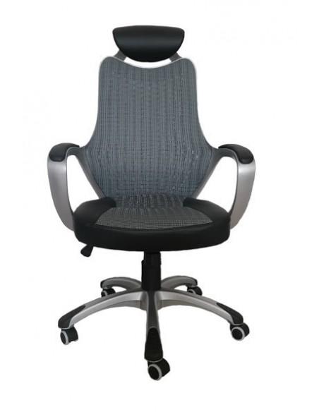 Кресло BARSKY COLOR STYLE  SILVER/GRAY (CS-01)