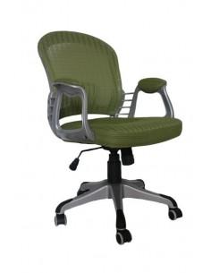 Кресло BARSKY COLOR CHAMPAIGNE Silver/Green (CM-04)