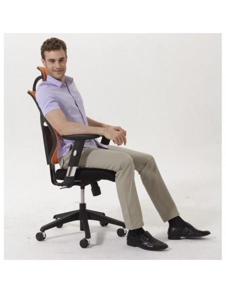Кресло EXPERT Star Euro для руководителя, эргономичное, цвет черный