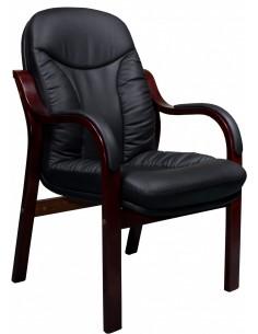 Кресло СА1316С для посетителя черный цвет