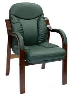 Кресло СА1316С для посетителя зеленый цвет