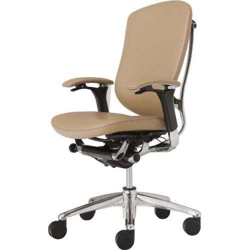 Кресло Okamura Contessa для руководителя кожаное стандартное