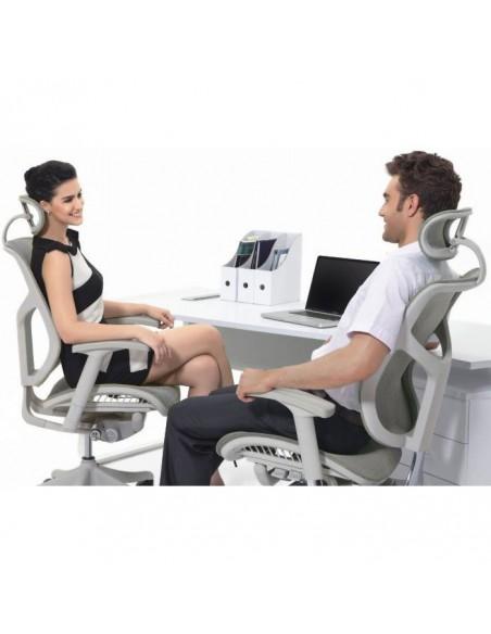 Кресло EXPERT Star Leather (STL01-G) для руководителя, эргономичное, черная кожа