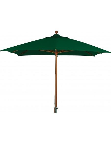 Зонт прямоугольный МАДРИД деревянный