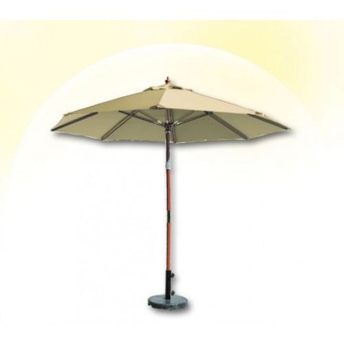 Зонт круглый СОЛО деревянный