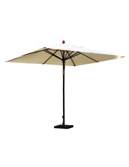 Зонт прямоугольный ПРАГА деревянный