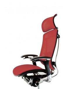 Кресло Okamura Contessa для руководителя с подголовником, сетка