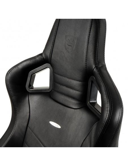 Кресло NOBLECHAIRS EPIC BLACK LEATHER для геймера