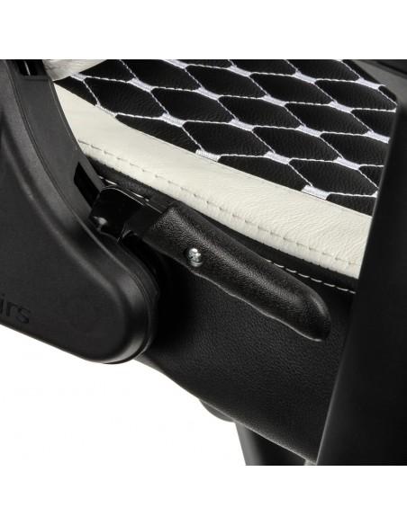 Кресло NOBLECHAIRS EPIC BLACK BLACK/WHITE/RED для геймера