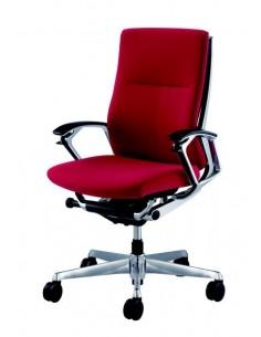 Кресло Okamura Duke для руководителя премиум класса с тканевой обивкой