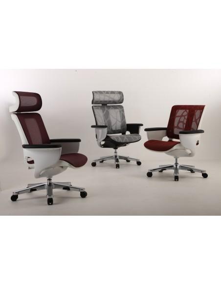 Кресло-реклайнер NUVEM GREY MESH для офиса и дома