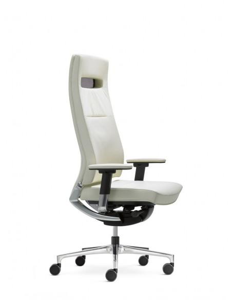 Кресло KLOBER CENTEO для руководителя белое