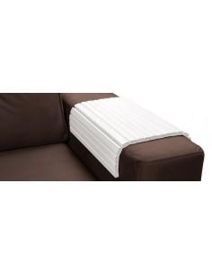 Деревянная накладка-подлокотник, белый цвет