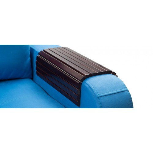 Деревянная накладка-подлокотник, цвет венге