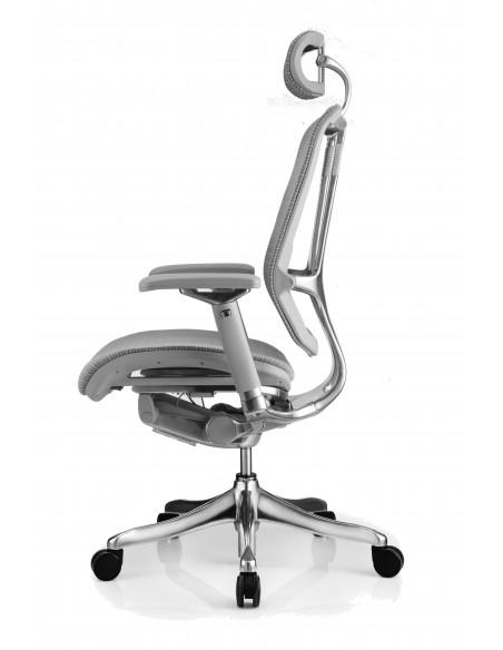 Кресло NEFIL LUXURY Mesh эргономичное, серое