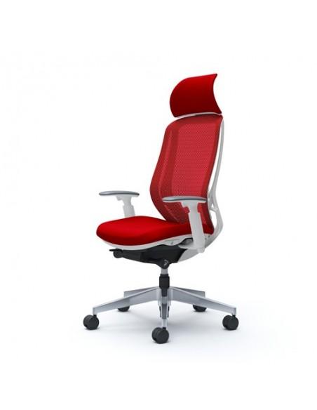 Кресло OKAMURA SYLPHY EXTRA HIGH WHITE для руководителя